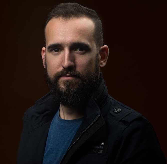 Retrato Jon Hernández