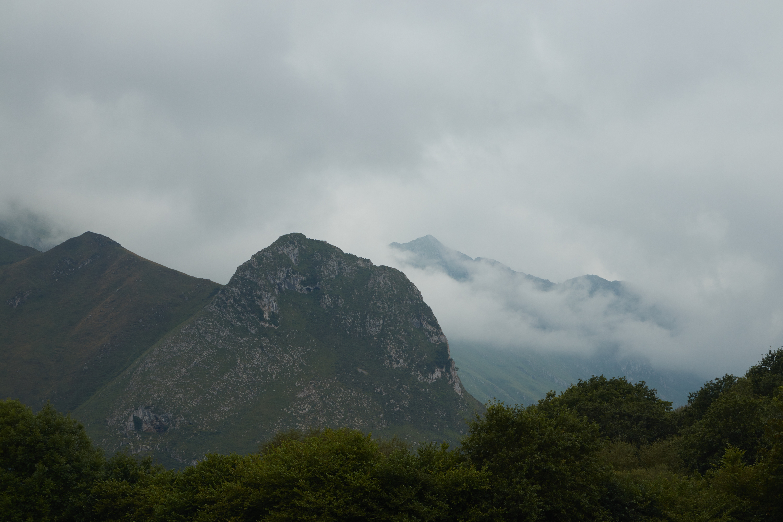 montañas antes